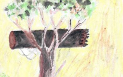 """""""Tree with bees"""""""